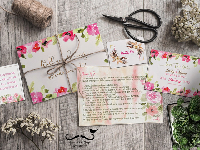 How to Make Invitation Cards Using Diy Ways for an Indian Wedding
