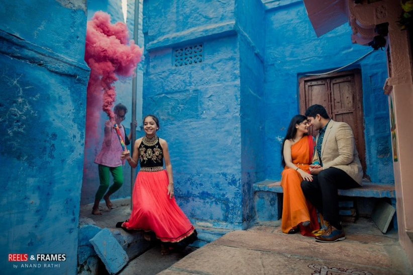 Indian Pre Wedding Photoshoot Ideas The Story Of Pure Romance
