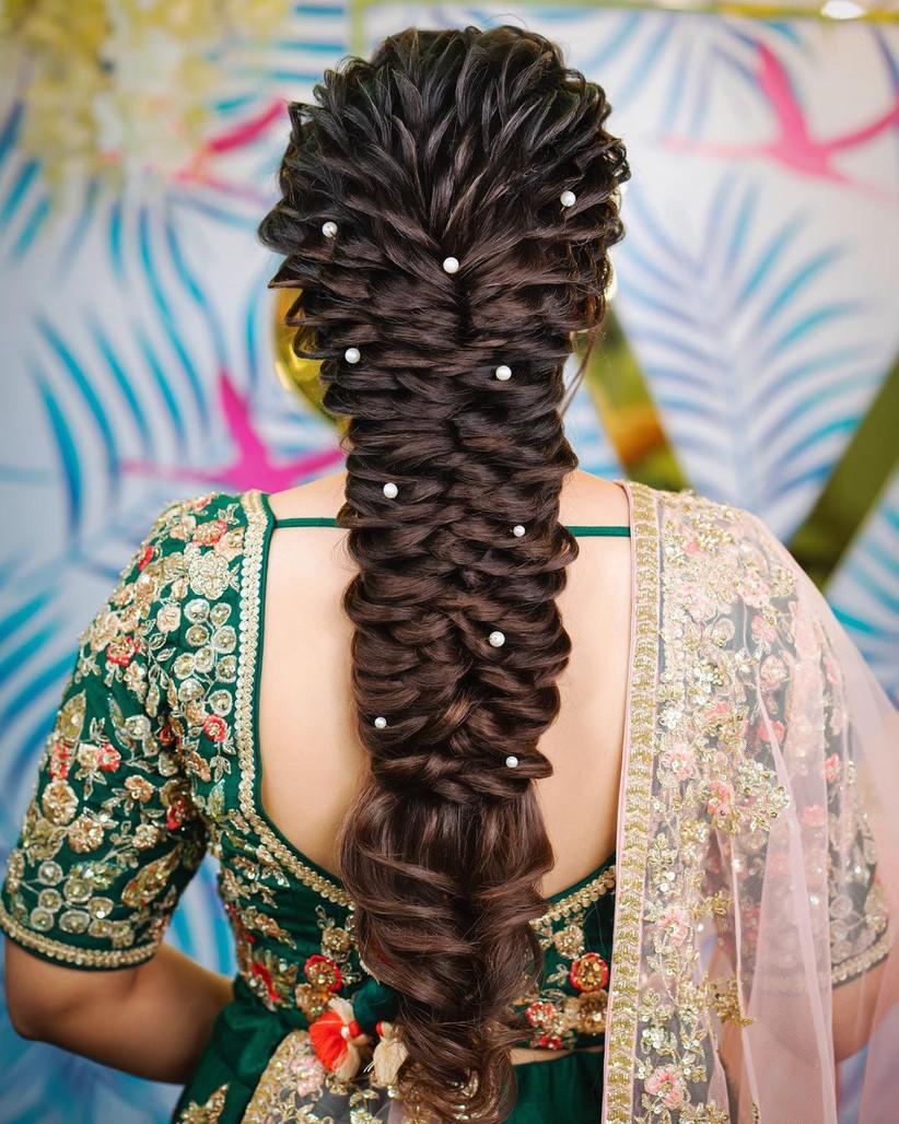 braid hairstyle on long hair