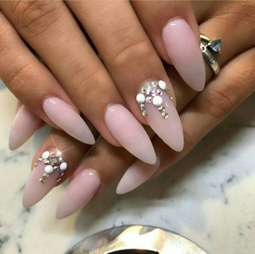 8 Embellished Nail Designs That'll Make Your Nails Pop, Literally