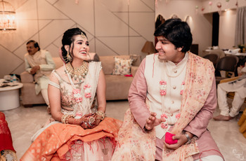 This Mumbai Couple Planned a Wedding at Home With Less Than 50 People