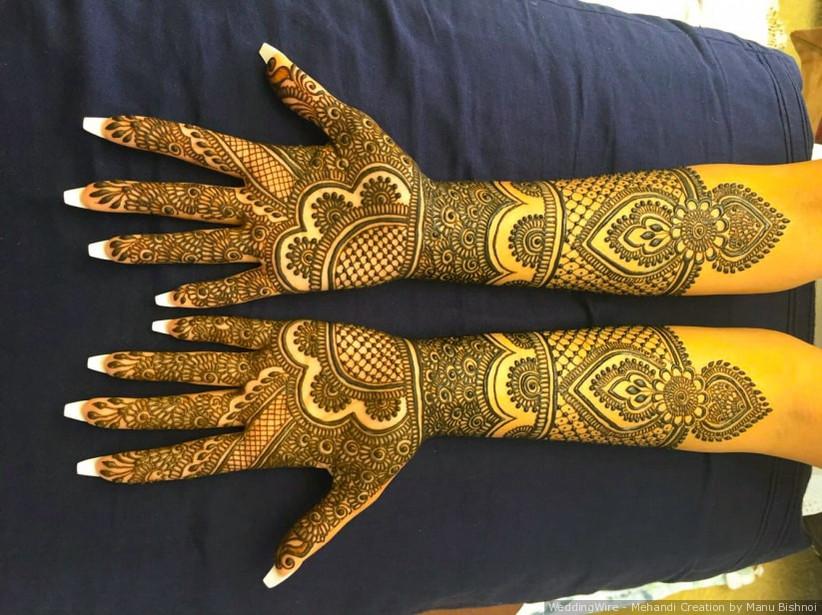 Mehandi Creation by Manu Bishnoi