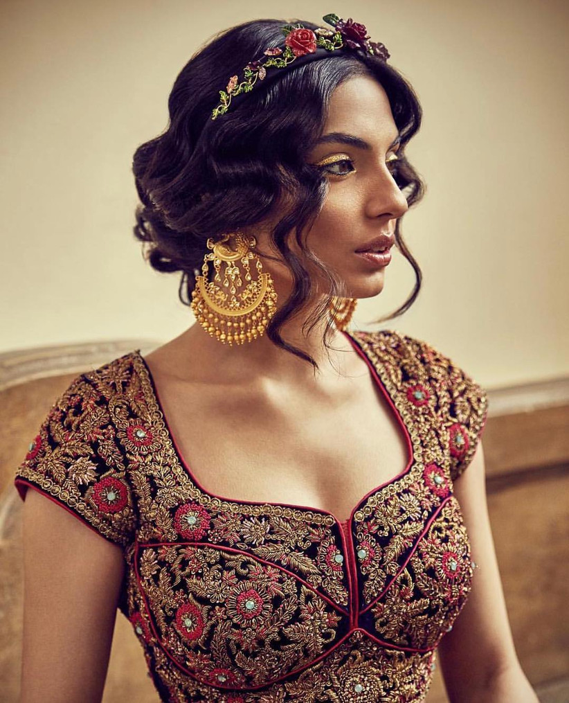 Trending Indian Wedding Hairstyles for Medium Hair You Need to Bookmark Now