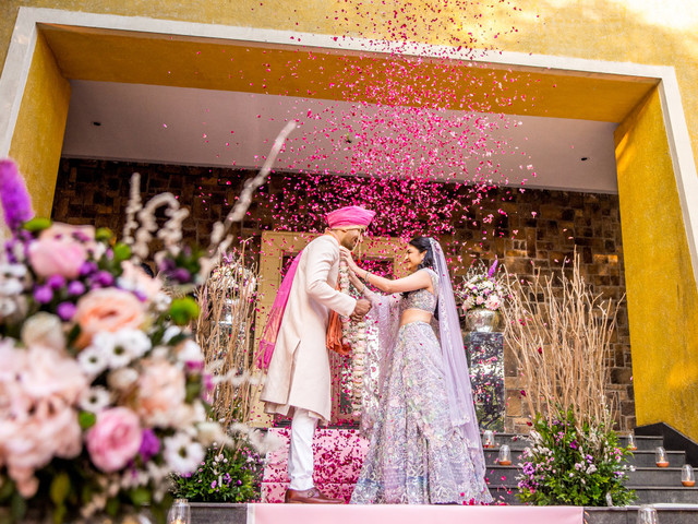 An Enchanting Wedding Story of Stuti Desai and Harshwardhan