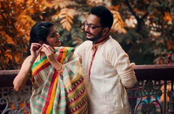 3 Unique 'How to drape a saree with pleats' Tutorials -  The Bengali, Navi and Gujarati Edition
