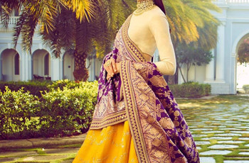 Banarasi Silk Dupatta Designs for Brides That Are Sure to Turn Heads