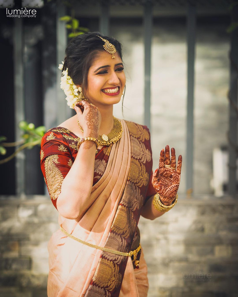 Bridal Sarees For Reception To Show Your Lovely Saree Clad Look