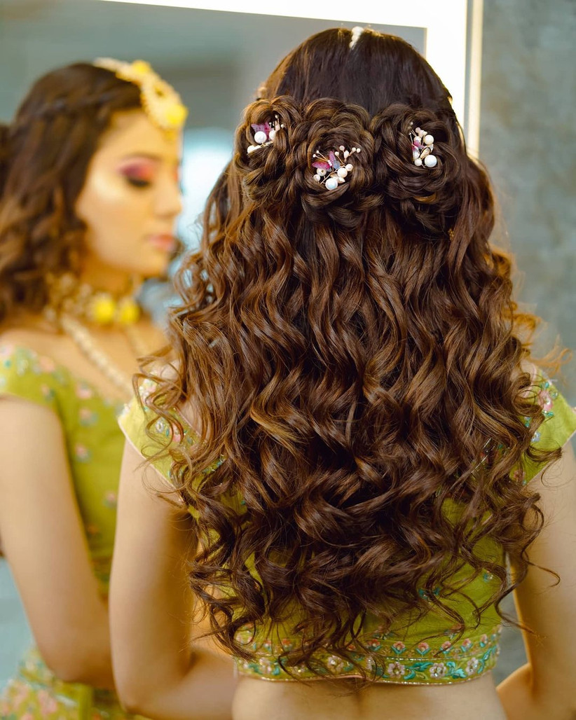 hair style for girls for wedding