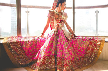 New Bridal Makeup Looks For Every Trending Wedding Saree Shades