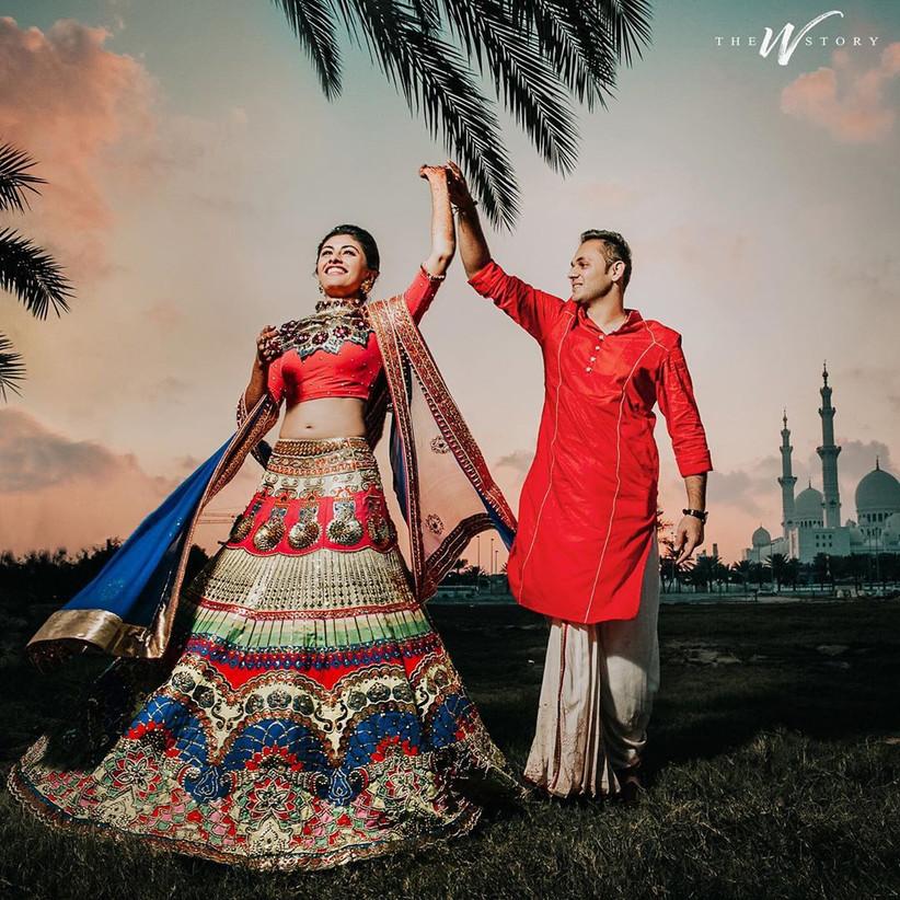engagement dress lehenga by Manish Arora