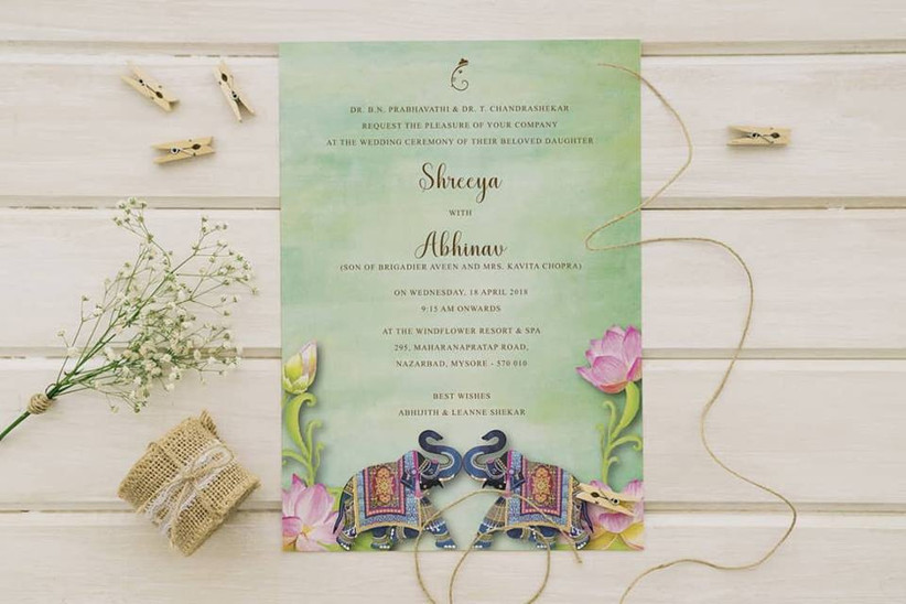 Marriage Invitation Wordings Rulebook: Read These Notes