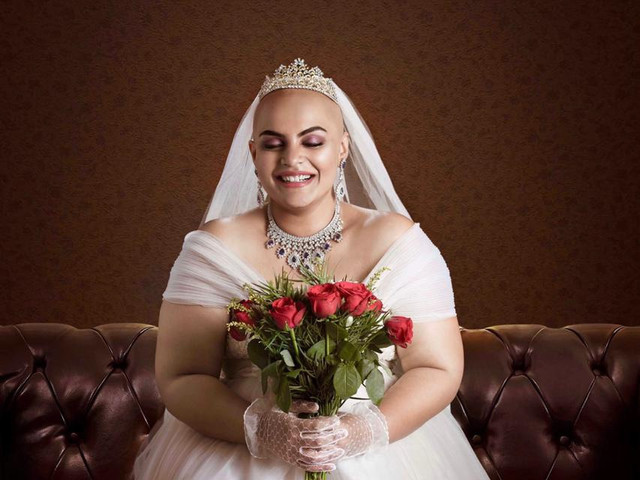 Bald is Beautiful Bridal Shoot! Up, Close & Personal!  - an Inspiration for Us All!