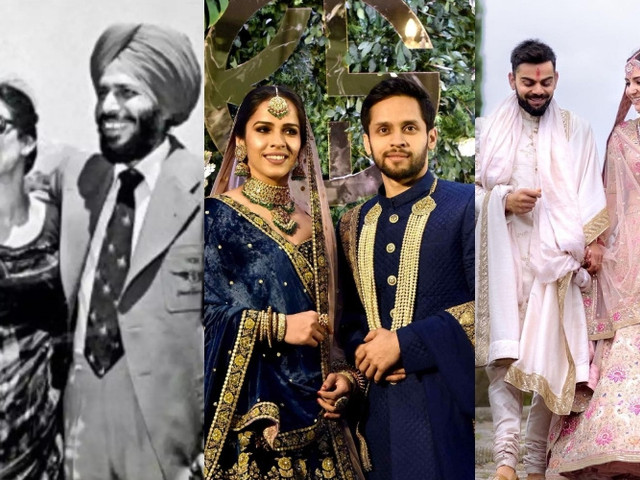 Revisiting Memorable Sportsperson Weddings This National Sports Day