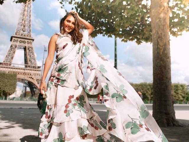 Masoom Minawala & Her Saree Looks Are a Break From Basics & How