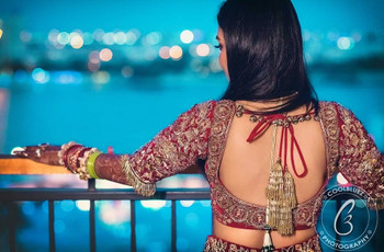 How to Carry a Deep Back Neck Blouse With Elegance at Indian Weddings?