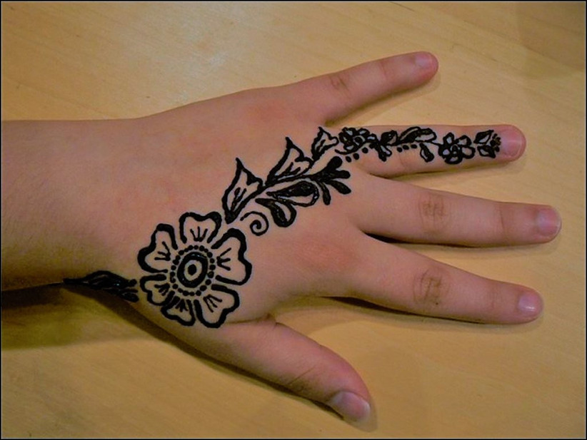Simple and Easy Mehndi Designs for Hands Step,by,step Guide