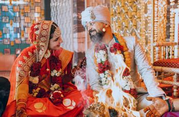 Inside Anand Tiwari's Wedding with Angira Dhar