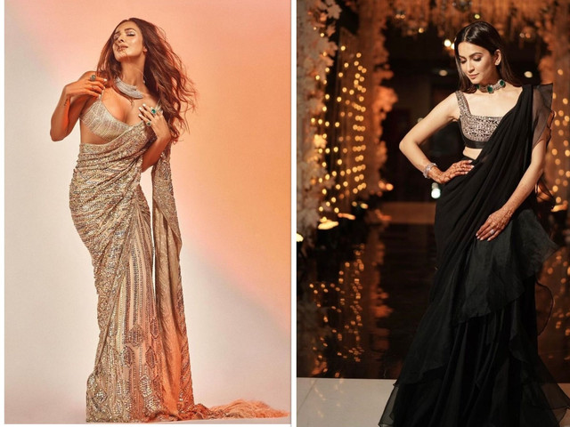 Go for These Golden Blouse Designs to Look Stunning on Your Wedding Day