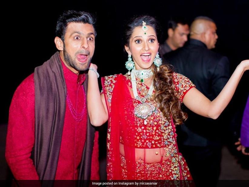 Sania Mirza & Shoaib Malik