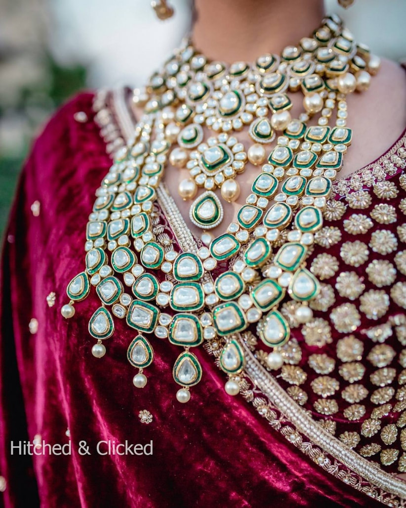 Take A Look At These 6 Bridal Jewellery Sets With Price