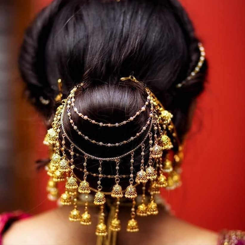Bun Hair Style For Indian Wedding: 5 Stunning South Indian Bridal Hairstyles (And How To