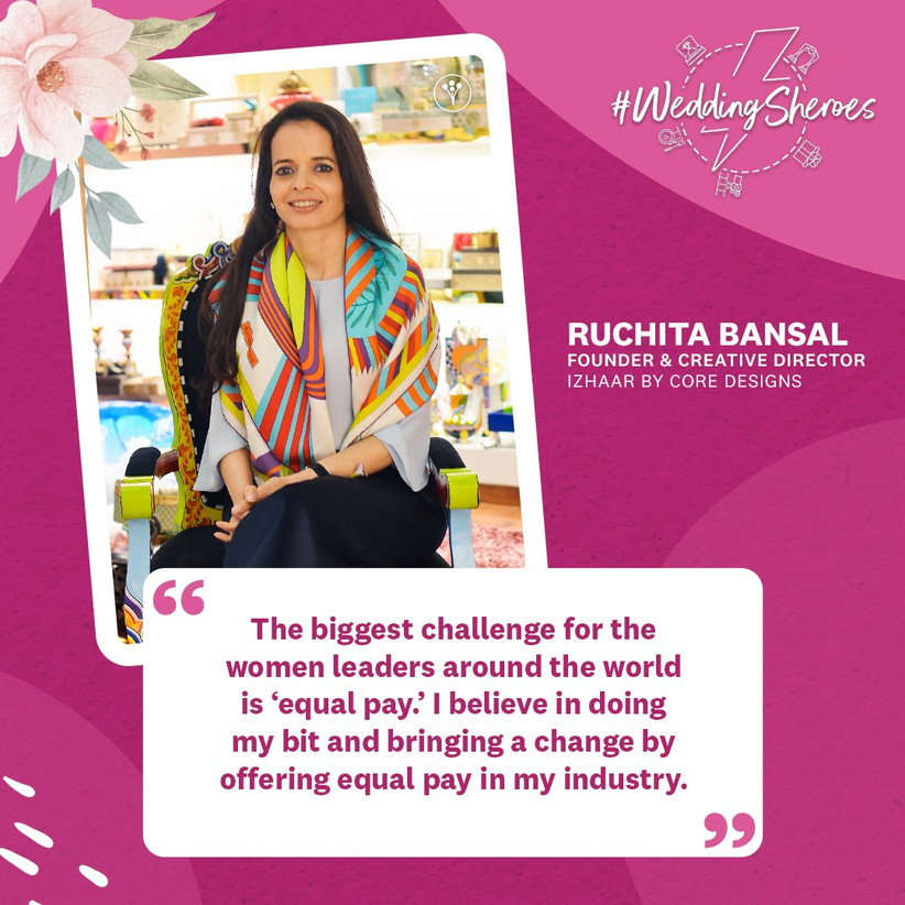 Ruchita Bansal, Founder & Creative Director,  Izhaar