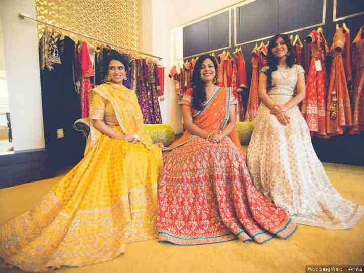 You Must Visit These Lehenga Shops In Kolkata If You Are Getting Married Anytime Soon