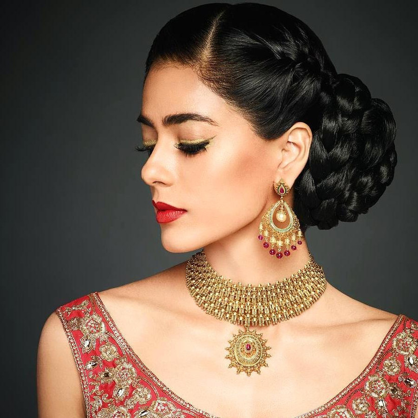 Front Hairstyle Trends Perfect For All Wedding Functions