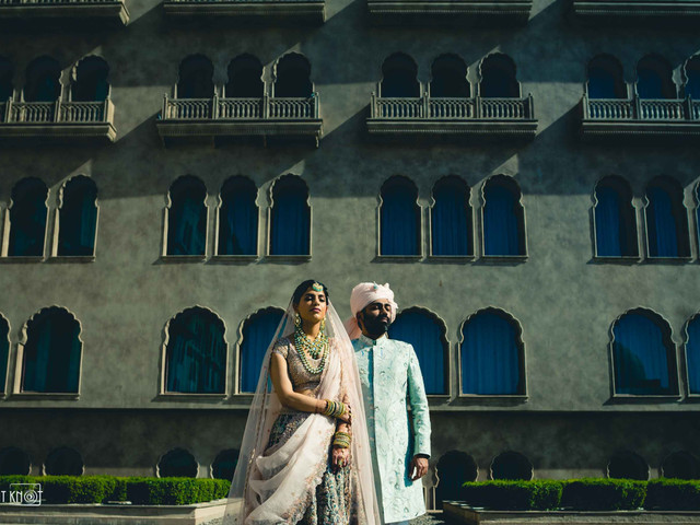 This Couple Hosted an Intimate Palatial Wedding in Jaipur