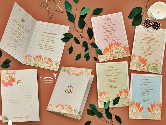 Check Out These Creative Customised Indian Wedding Cards!
