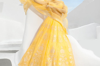 Bloom at the Wedding Functions With These Yellow Lehenga Designs