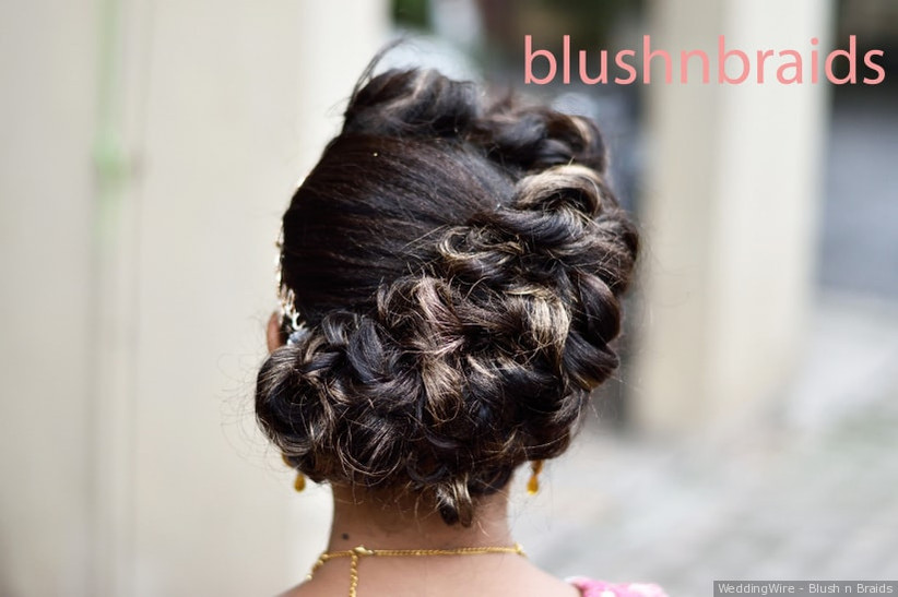 9 Indian Hairstyles For Thin Hair For A Wow Wedding Look