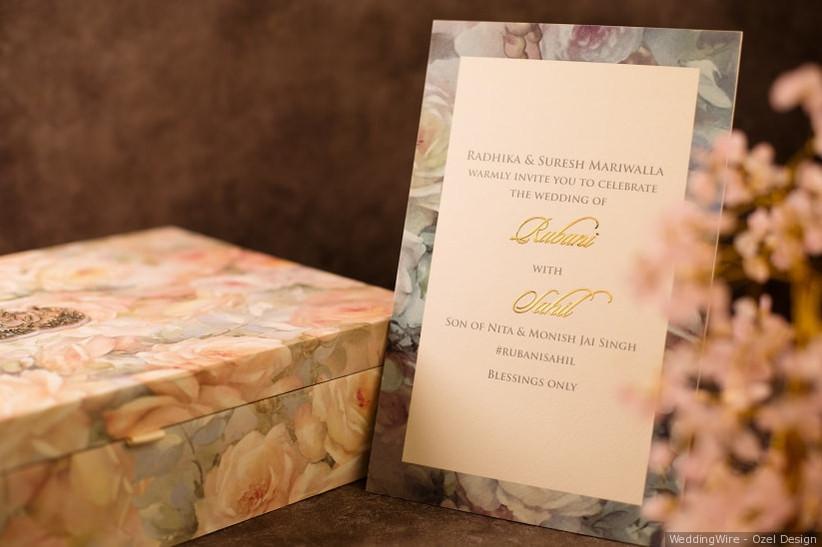 ... Marathi wedding invitation. Ozel Design