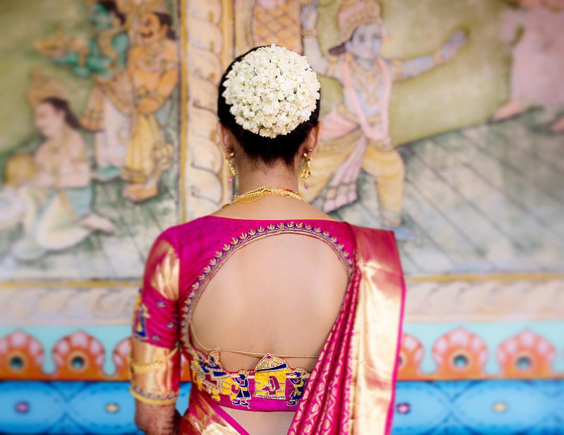 10 Perfect Cotton Saree Blouse Back Neck Designs For The Bride