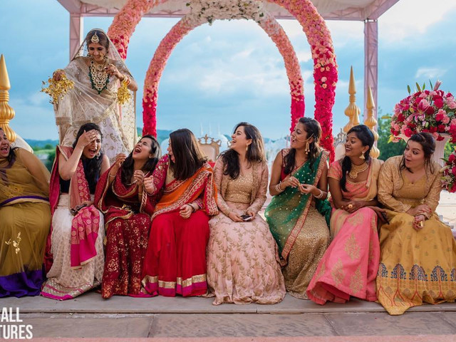 Indo-Western Dress for Female Ideas: All About the Bridesmaids!