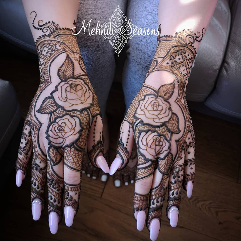 70+ Mehndi Designs for Hands For Your D,day