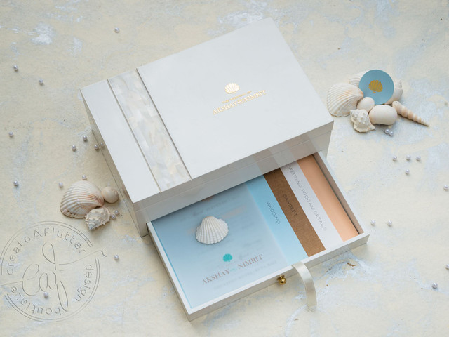 Out-of-the-box Beach Invite Ideas for Your Dreamy Sea-side Wedding