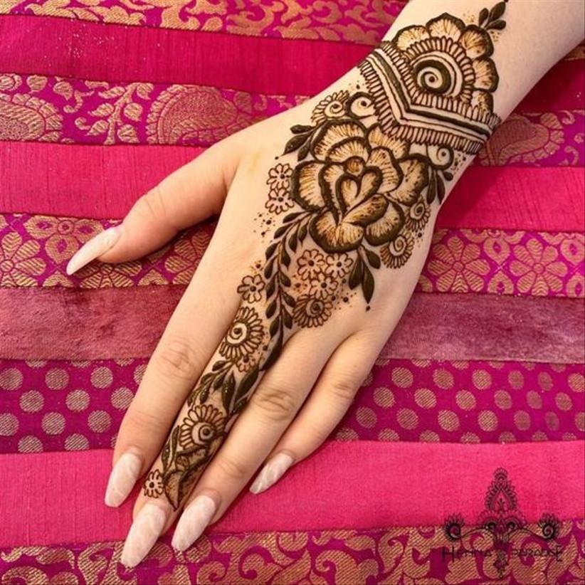 Top 89 Arabic Mehndi Designs,Cute Wedding Indian Lehenga Designs For Girls Wedding