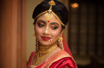 Lovely Locks! Stunning Bengali Bridal Hairstyle Images for Some Inspiration!