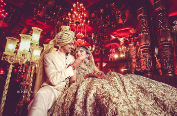 8 Stunning Gold Indian Wedding Dresses For The Bride And Groom