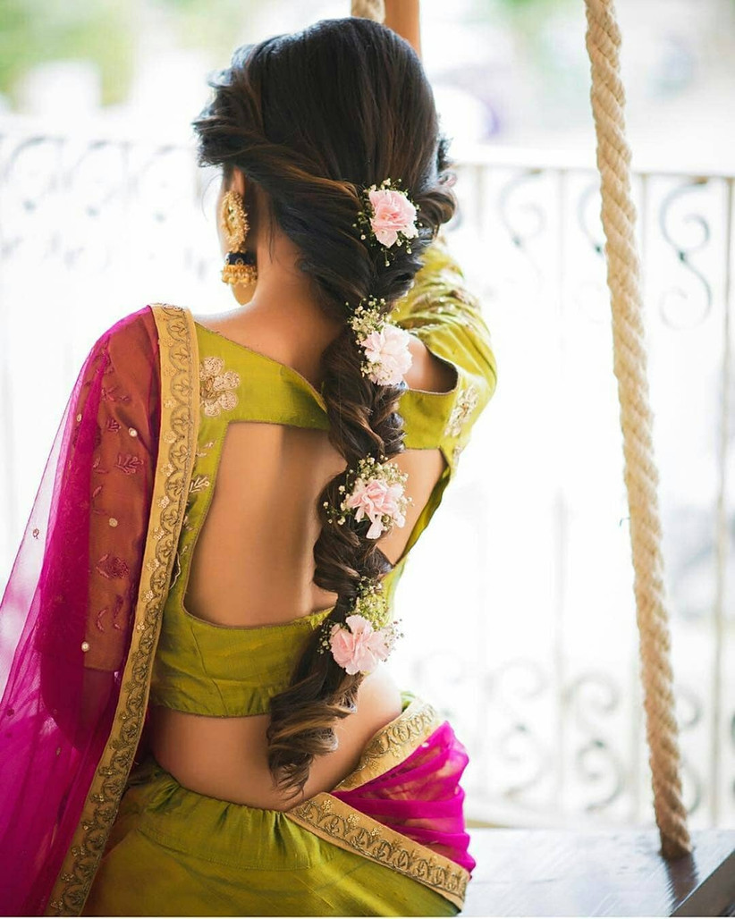 10 inspiring indian wedding hairstyles for long hair you