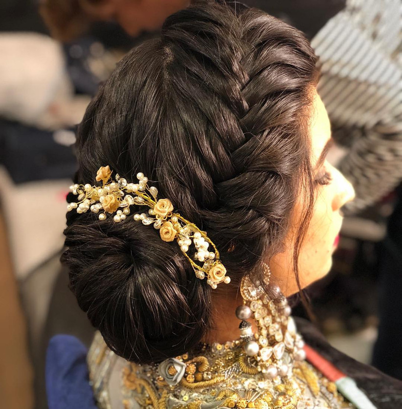 8 Must Try Hairstyle For Indian Wedding Party Ideas You Must