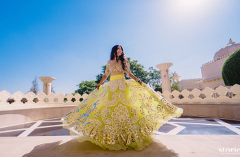 Spotlight Special Bridal Mehndi Dresses to Make You Look like a True Queen