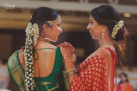 Poola Jada as The Perfect Hair Accessory For South Indian Weddings