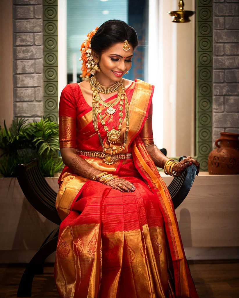 Kerala Saree Designs That Are Great Both for the Bride and the Wedding Guests for a Kerala Wedding