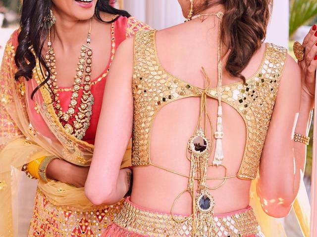 13 Unique Blouse Designs That Complete Stellar Bridal Outfits