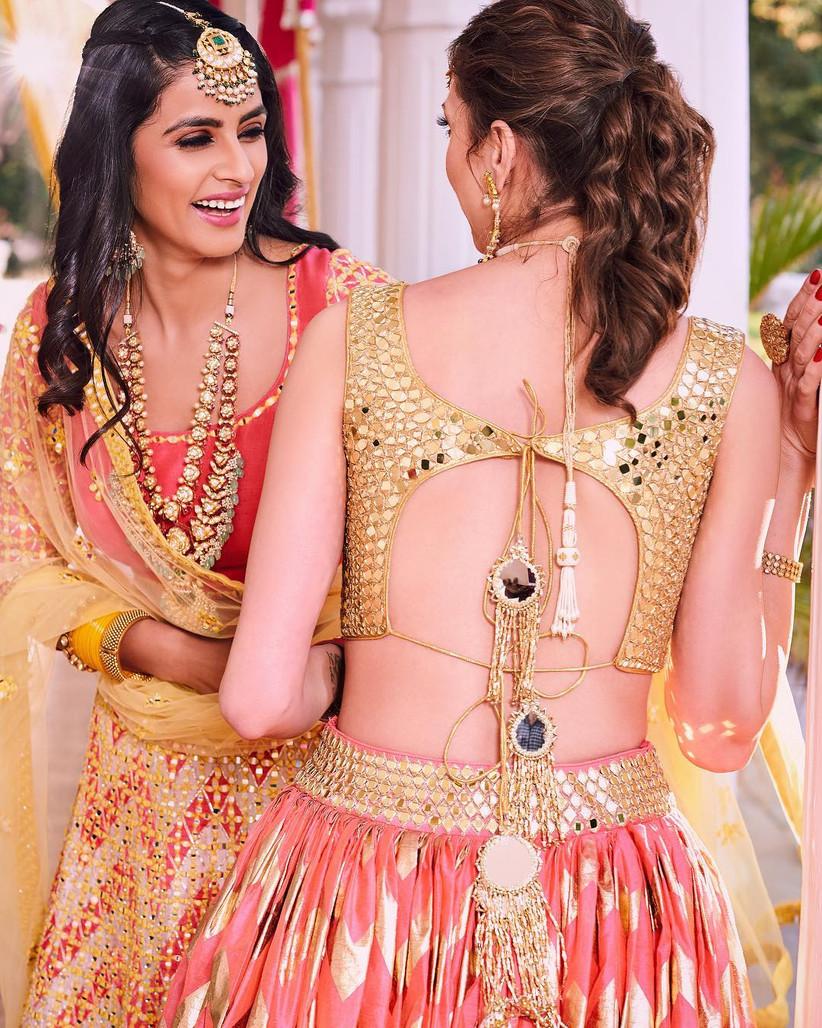 9cecaeafe594e1 13 Unique Blouse Designs That Complete Stellar Bridal Outfits
