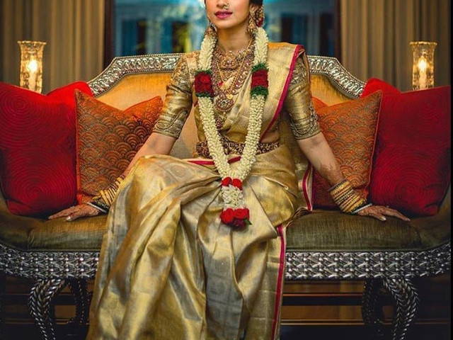 Be Your Own Stylist With These Gold Saree Blouse Designs for D-day