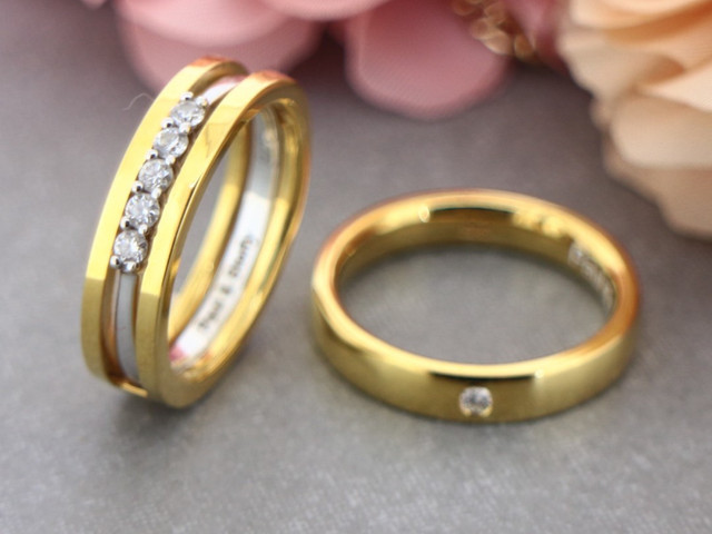 Couple Rings Gold Designs You Need To Check Out Before Your D Day