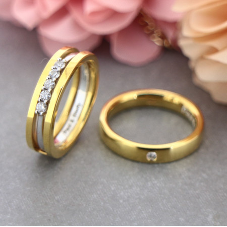 Couple Rings Gold Designs You Need to Check Out Before Your D-day